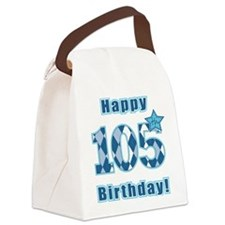 Happy 105th Birthday! Canvas Lunch Bag