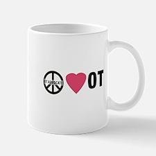 OT Advocate Peace, Love, OT Mug