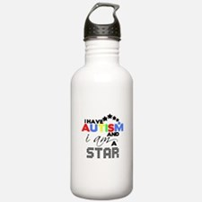 Autistic Star Water Bottle
