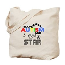 Autistic Star Tote Bag