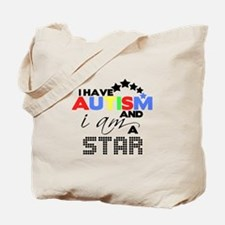 Autistic Star Tote Bag
