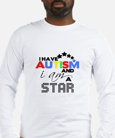 Autistic Star Long Sleeve T-Shirt