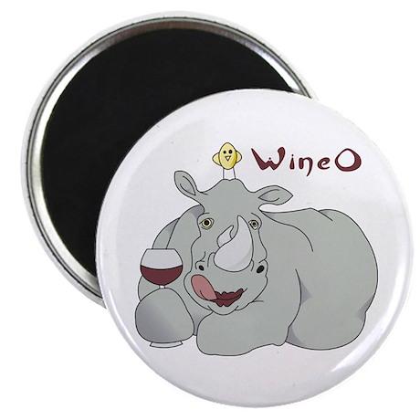 """Wine O 2.25"""" Magnet (10 pack)"""