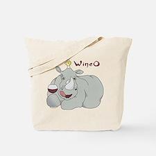 Wine O Tote Bag