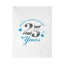 Happy Anniversary 25 years Twin Duvet