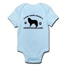 Every home needs a Newfoundland Infant Bodysuit