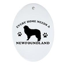 Every home needs a Newfoundland Ornament (Oval)