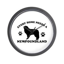 Every home needs a Newfoundland Wall Clock