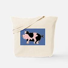 pig drawing Tote Bag