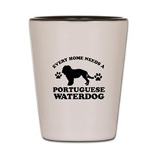 Every home needs a Portuguese Water Dog Shot Glass