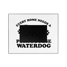 Every home needs a Portuguese Water Dog Picture Frame