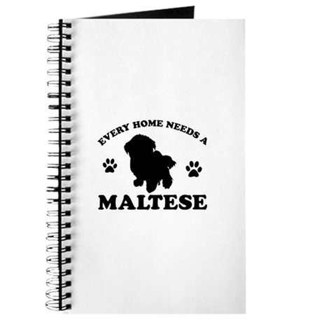Every home needs a Maltese Journal
