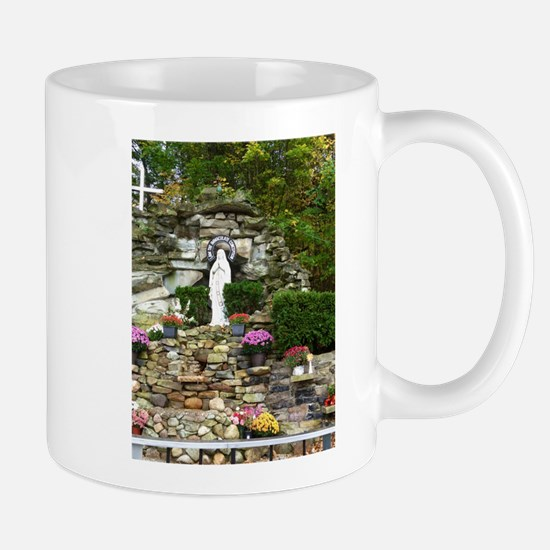 Our Lady of Lourdes Shrine in the Fall Mug