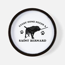 Every home needs a Saint Bernard Wall Clock