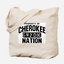 Property of Cherokee Nation Tote Bag