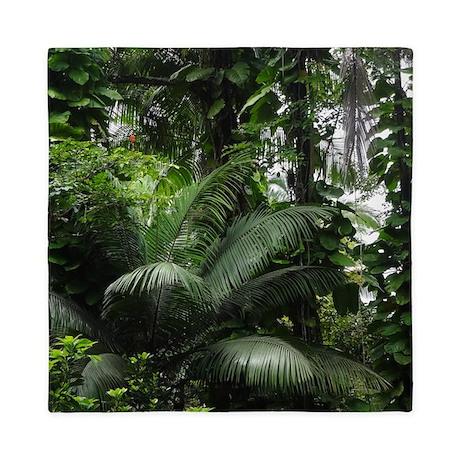 Tropical Rainforest Queen Duvet