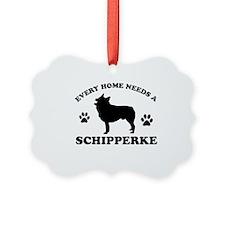 Every home needs a Schipperke Ornament