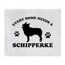 Every home needs a Schipperke Throw Blanket