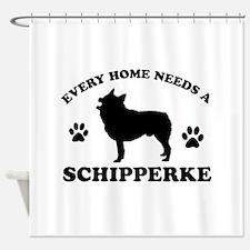 Every home needs a Schipperke Shower Curtain