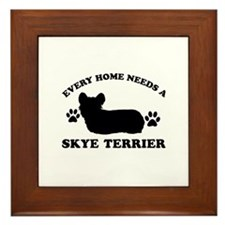 Every home needs a Skye Terrier Framed Tile