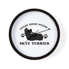 Every home needs a Skye Terrier Wall Clock