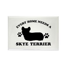 Every home needs a Skye Terrier Rectangle Magnet (