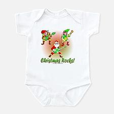 Christmas Rocks Infant Bodysuit