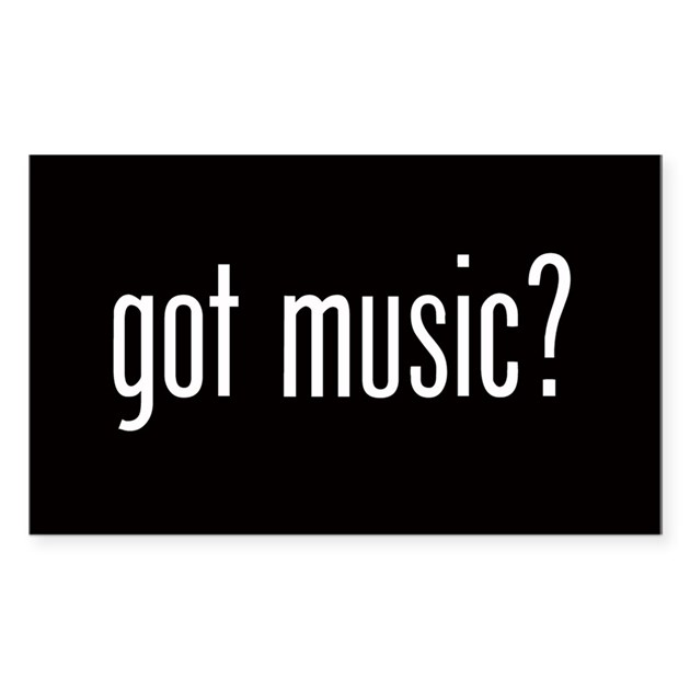 Got Music? Oval Decal By Admin_CP10389561