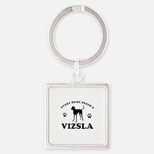 Every home needs a Vizsla Square Keychain