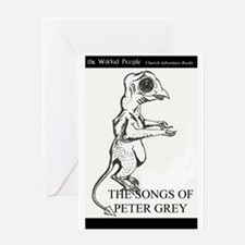 Peters Despair Creature Greeting Card