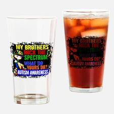Rocks Spectrum Autism Drinking Glass