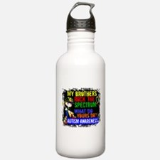 Rocks Spectrum Autism Water Bottle