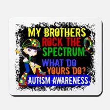 Rocks Spectrum Autism Mousepad
