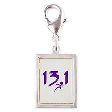 Purple 13.1 half-marathon Charms