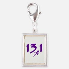 Purple 13.1 half-marathon Charms