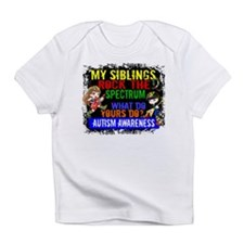 Rock Spectrum Autism Infant T-Shirt