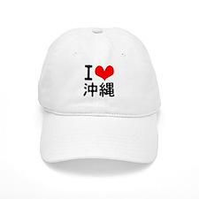 I Love Okinawa Baseball Cap