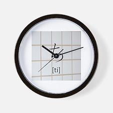 hiragana-ti (chi) Wall Clock