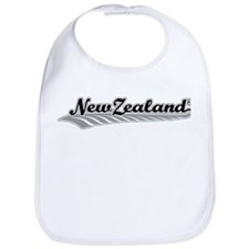 New Zealand Fern Swish Bib