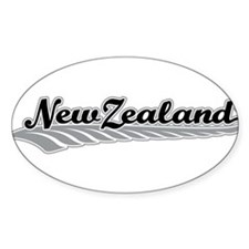 New Zealand Fern Swish Decal