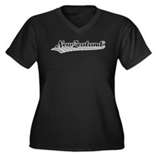 New Zealand Fern Swish Plus Size T-Shirt