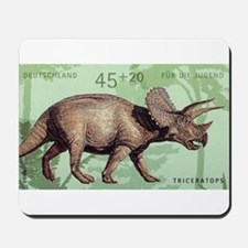 2008 Germany Triceratops Postage Stamp Mousepad