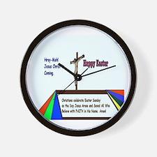 Christian Easter Sunday Wall Clock