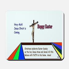 Christian Easter Sunday Mousepad