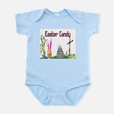 Easter Bunny Candy Infant Bodysuit