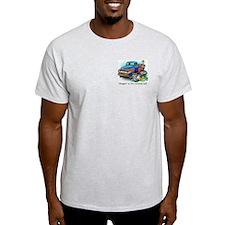 Harlin's World Curbside Mall Ash Grey T-Shirt