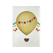 Hot air balloons Rectangle Magnet