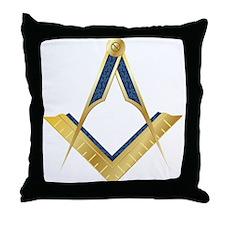 SC-goldplain Throw Pillow