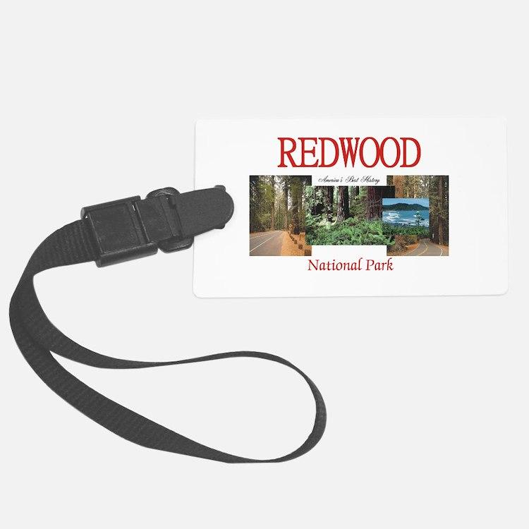 Redwood Americasbesthistory.com Luggage Tag
