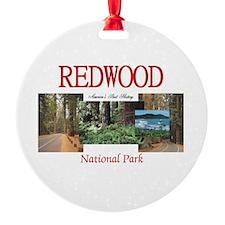 Redwood Americasbesthistory.com Ornament